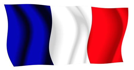 whitem: France Flag Waving