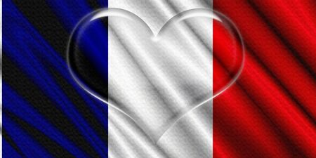 France Crystal Heart photo
