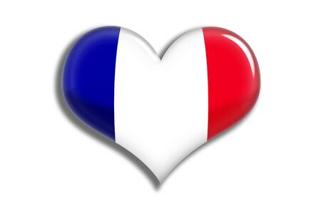 shiny: France shiny heart