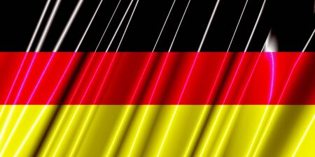 Germany Plastic Flag photo