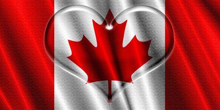 corazon cristal: Bandera de Italia Coraz�n de Cristal
