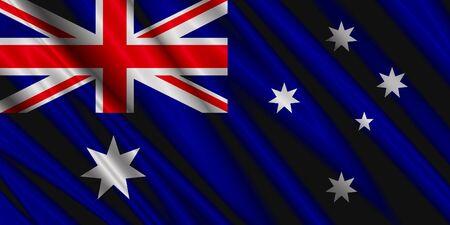 Australia Silk Flag