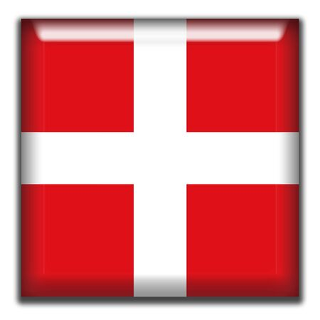 square: Switzerland square Icon Stock Photo