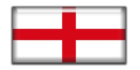 rectangle: England Rectangle Icon Flag