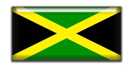 rectangle: Jamaica rectangle icon