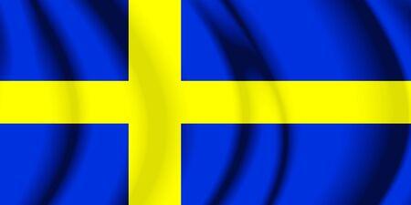 sweden flag: Sweden Fabric Flag