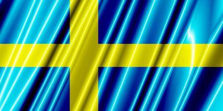 sweden flag: Sweden Plastic Flag
