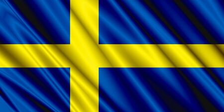 sweden flag: Sweden Satin Flag