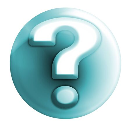 webmail: bluish question icon