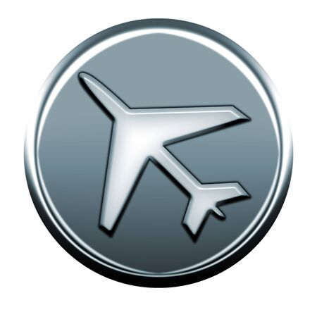 webmail: gray airplane icon