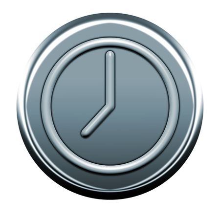 webmail: gray clock icon