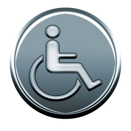 webmail: disability gray icon