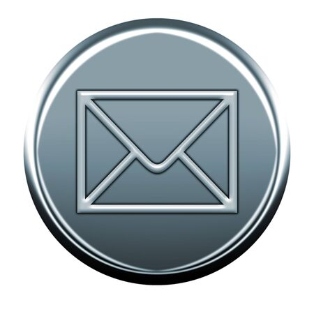 webmail: gray envelope outline