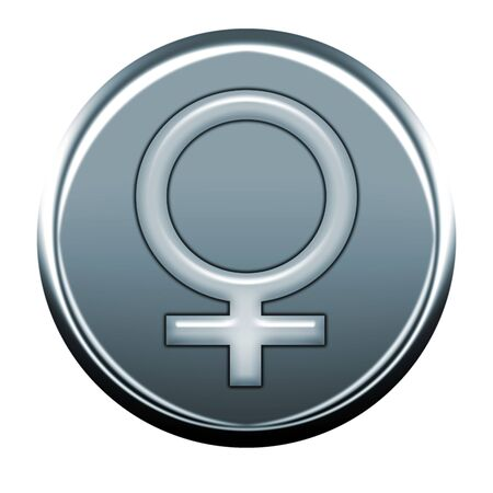 webmail: female gray icon