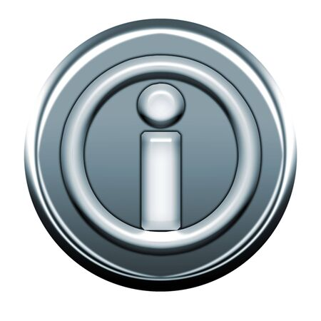 webmail: circle i gray icon