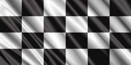 checkered silk flag