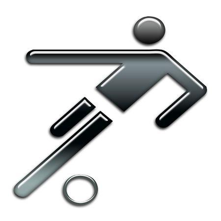blackbright football icon