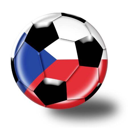 football czech republic 版權商用圖片 - 3131266