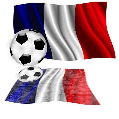 europeans: football flag france