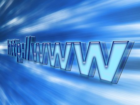 http bluish bright connection Stock Photo - 3189202