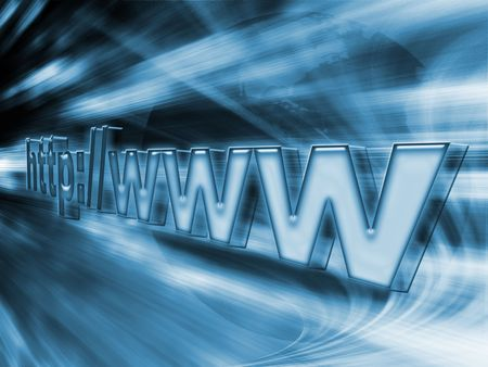 http speed conection world Stock Photo - 3189203