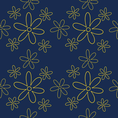 Seamless natural pattern in ethnic style. vector vintage border frame download