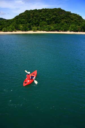 ang thong: Kayaking at Ang Thong National Park, Thailand