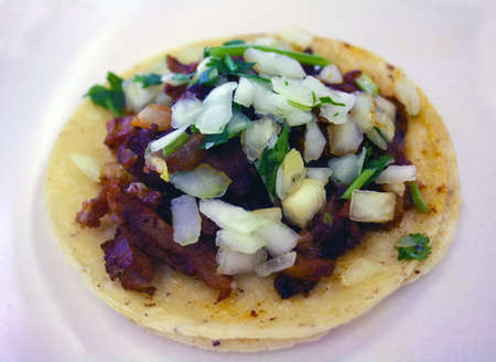 Carne Asada Taco Stock Photo