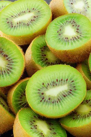 Food Kiwi Fruit slices. Close-up . Stock Photo - 5707900