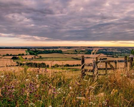 country views Stock Photo