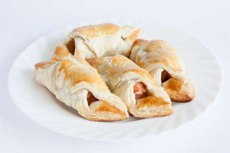 flaky: Sausage in flaky pastry