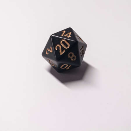 d20 says with good result 写真素材