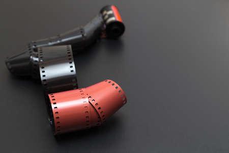 umschwung: Umkehrfilm f�r Dias �ber einem grauen begleitet von sch�nen Kopie Raum auf der rechten Lizenzfreie Bilder