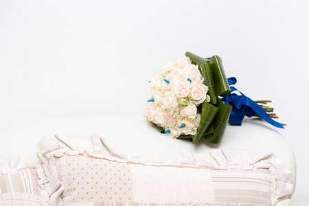 Wedding bunch of flowers photo