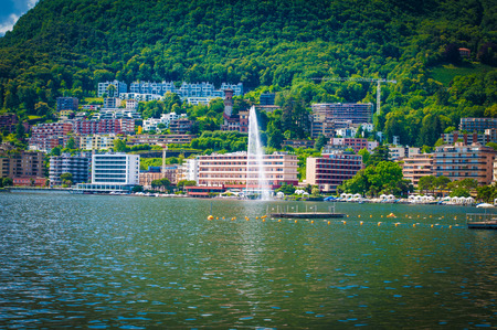 lake front: Lugano