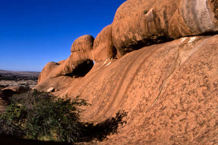 Natural Arch, Spitzkoppe Nature Reserve, Namibia, Africa Stock Photo
