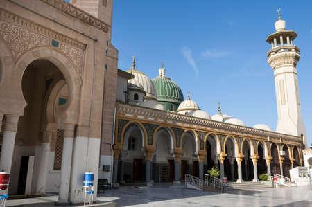 the Mosque of Sidi Abdul Salam in Ziltan, Afica, Libya, Al Marqab Foto de archivo