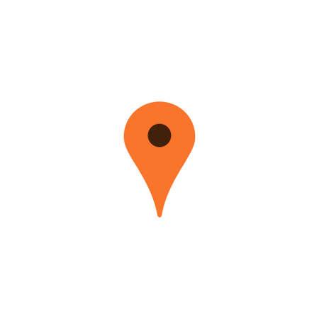 Mapa De Pin, Ubicación, Naranja, Icono, GPS, Lugar, Marcador Ilustraciones  Vectoriales, Clip Art Vectorizado Libre De Derechos. Image 90514902.