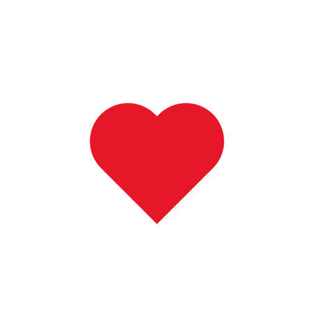 Red Heart Icon Love Symbol Royalty Free Cliparts Vectors And