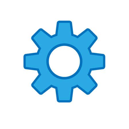 Gear icon, settings symbol Stock Illustratie