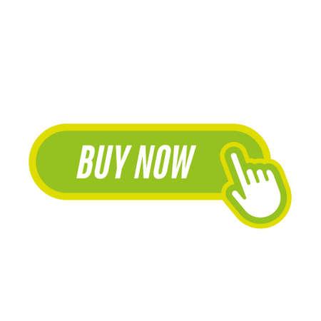 acheter maintenant icône avec la main