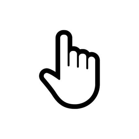 Click hand icon 矢量图像