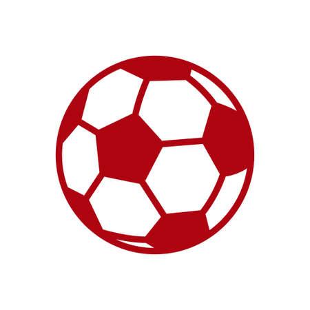 Football soccer ball icon  イラスト・ベクター素材