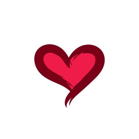 Heart love vector icon