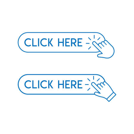 Cliquez sur le bouton avec l'icône de clic de la main