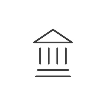 Bank linear icon