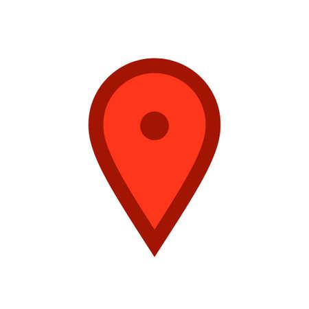 Location icon, map pin Archivio Fotografico - 126545839