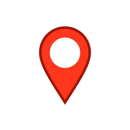 Location icon, map pin Archivio Fotografico - 126545881
