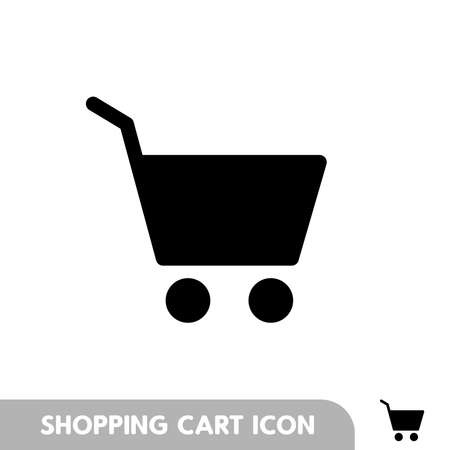 Shopping Cart Icon, flat design best vector icon