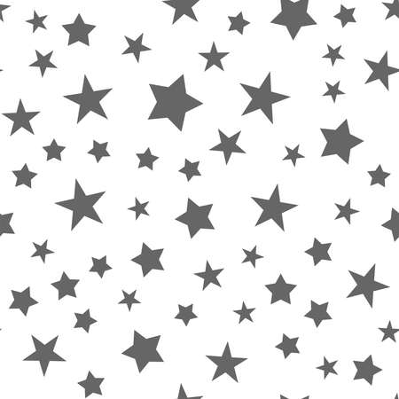Stars seamless pattern. Star texture background.